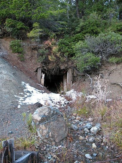 An old mine in the area, Land of the Lost