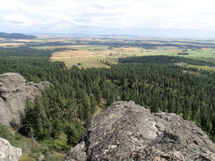 Rock Climbing Photo: Mid summer view south across the Palouse from the ...