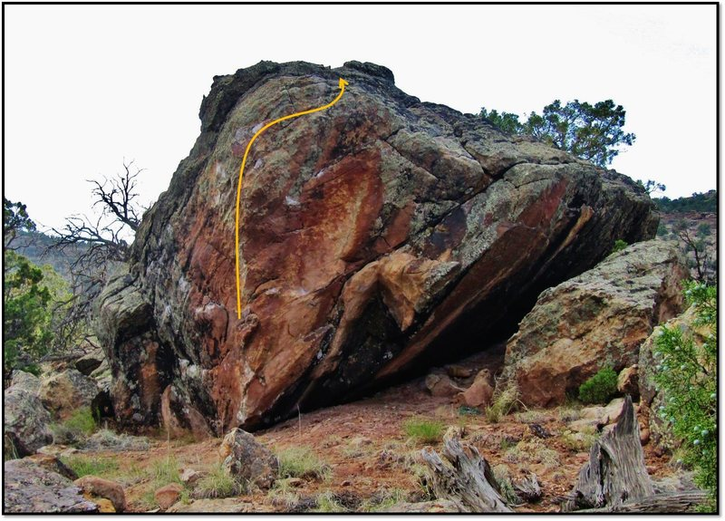 Rock Climbing Photo: Campfire Drone Expression problem beta.