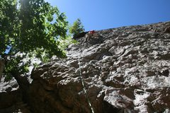 Rock Climbing Photo: Great climb good rock