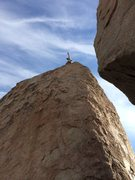 Rock Climbing Photo: unknown route, NW edge