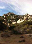 Rock Climbing Photo: Pinnacles approach from gun club.