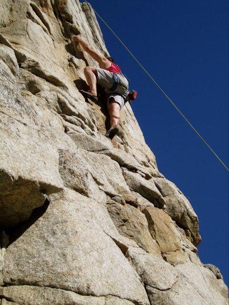 Rock Climbing Photo: Self