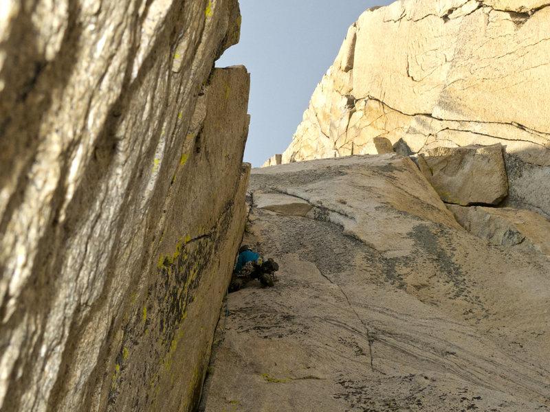 Rock Climbing Photo: Pitch 1 of Crimson Gem
