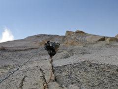 Rock Climbing Photo: Pitch 2 of Crimson Gem