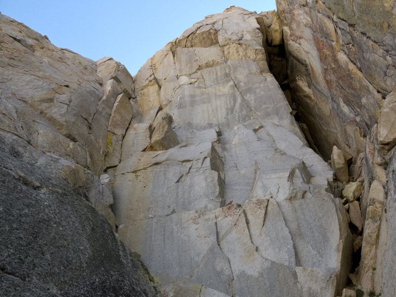 Rock Climbing Photo: The Belly of the Beast on the right and the steep ...