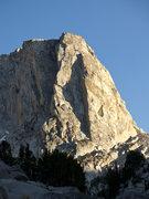 Rock Climbing Photo: Afternoon light on The Juggernaut.