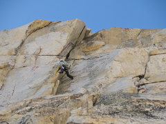 Rock Climbing Photo: Pitch 1 of Irresistible Force
