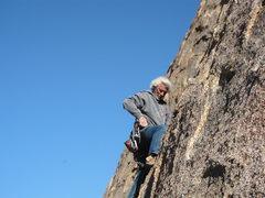 Rock Climbing Photo: Mark Frumkin on Leonospere