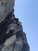 Rock Climbing Photo: Laine Cruxing.