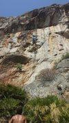 """Rock Climbing Photo: """"Sound Check""""(5.11d)"""