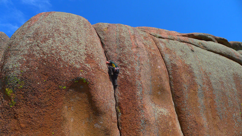 Top of Jim Jam (5.9).