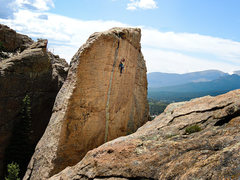 Rock Climbing Photo: Andrology, great line!