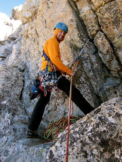 Rock Climbing Photo: Exum Ridge