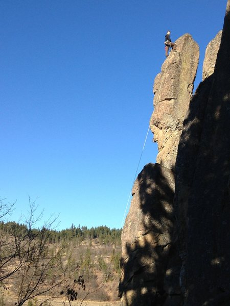 Rock Climbing Photo: Top of Marge