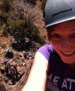 Rock Climbing Photo: Climbing just outside abq