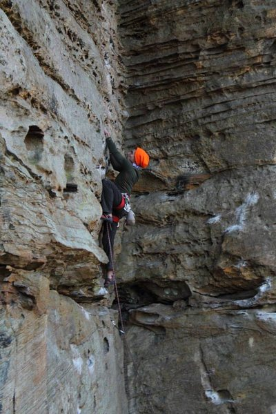 Rock Climbing Photo: Raindancer, Red River Gorge