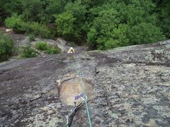 Rock Climbing Photo: Thwarthog P2