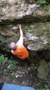 Rock Climbing Photo: Move to the crack - Matt A