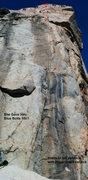 Rock Climbing Photo: She Gave Him Blue Bolts (5.10a)
