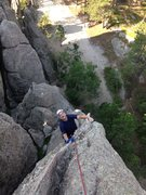 Rock Climbing Photo: This might very well be the best route at Rushmore...