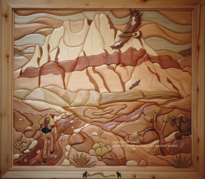 Rock Climbing Photo: Mt. Wilson, Red Rock Canyon