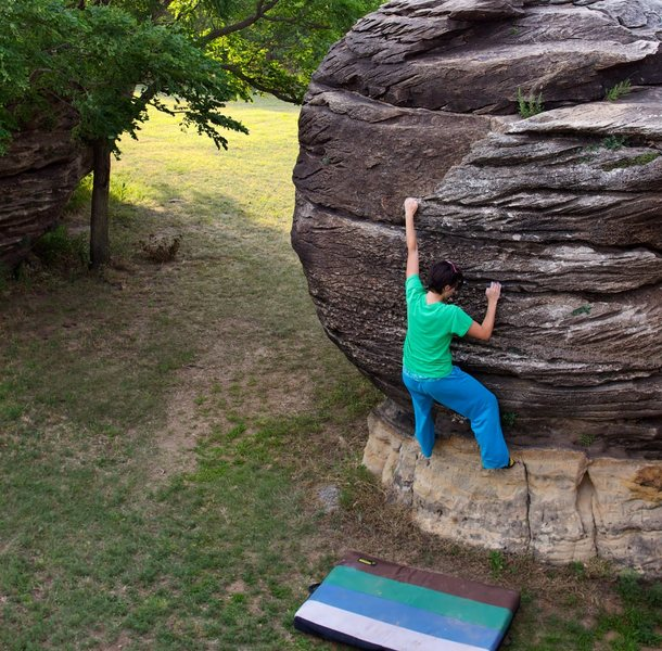 Just 20 minutes north of I-70, Rock City is a National Natural Landmark that is always open.