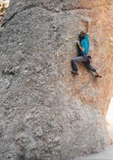 "Rock Climbing Photo: Solo'ing ""The Thimble"" in the Black Hill..."