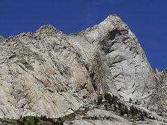 Rock Climbing Photo: Castle Dome. SE Arete is the right skyline of the ...