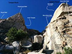 Rock Climbing Photo: Topo for all areas