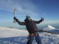 Rock Climbing Photo: Summit of Rainier