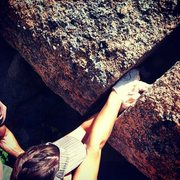 Rock Climbing Photo: Love hand fist stacks!