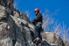 Rock Climbing Photo: Mixed Climb @ Casket Quarry, Duluth MN