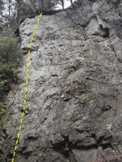 Rock Climbing Photo: Featured Attraction Coming Soon is the left most r...
