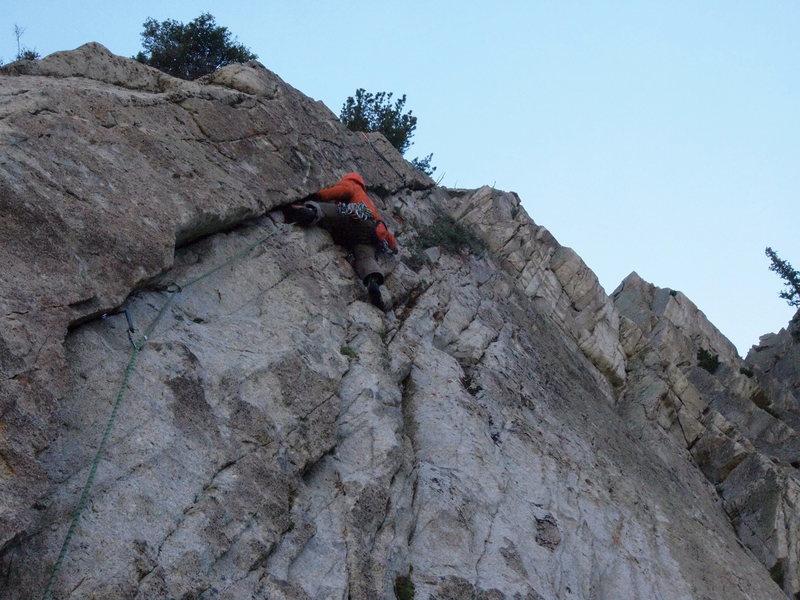 Rock Climbing Photo: great climb!
