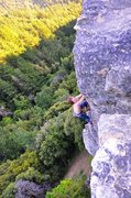 "Rock Climbing Photo: Higher up near the top of the ""Mullah"". ..."