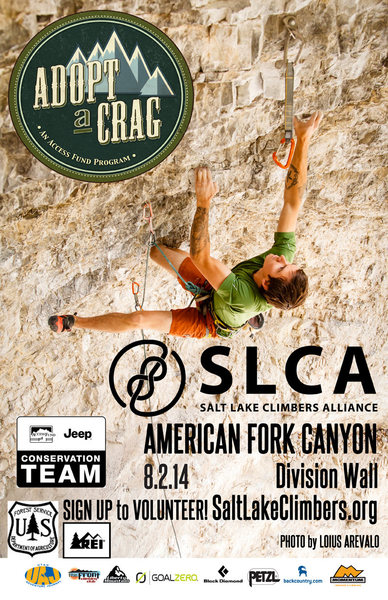 Rock Climbing Photo: Adopt a Crag