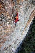 Rock Climbing Photo: One of the many 5.10 pitches down low.