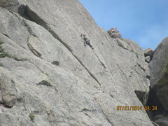 Rock Climbing Photo: Cheap Date.