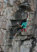 Rock Climbing Photo: Rich Strang on 40-love