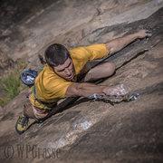 Rock Climbing Photo: Matt P. dominating.