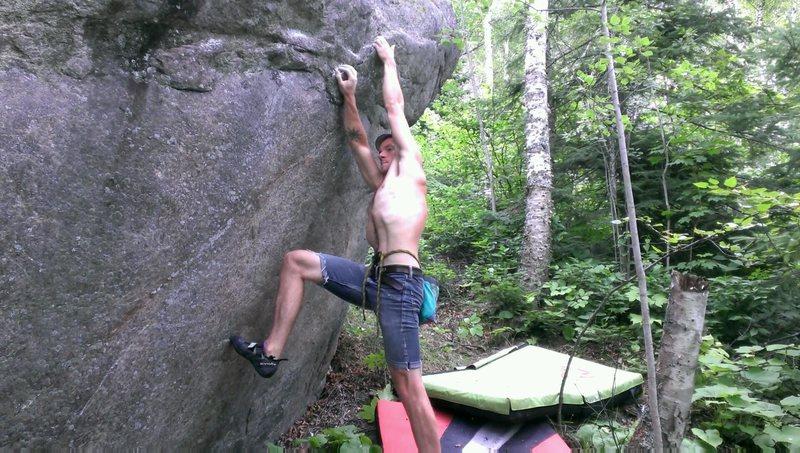 Rock Climbing Photo: Start