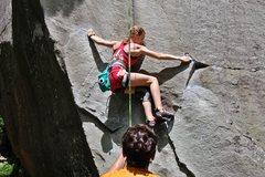 Rock Climbing Photo:  balancy start