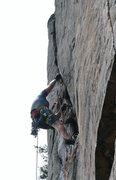 Rock Climbing Photo: Crux Razor worm