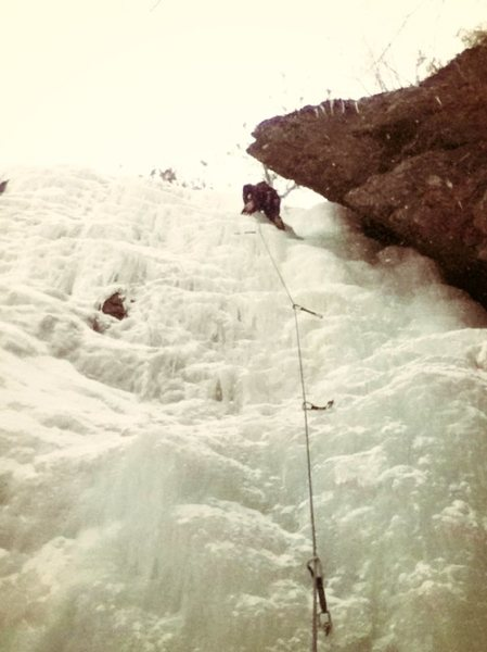 Rock Climbing Photo: Ice Cave