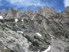 Rock Climbing Photo: North facing view of the North fork to Avalanche C...