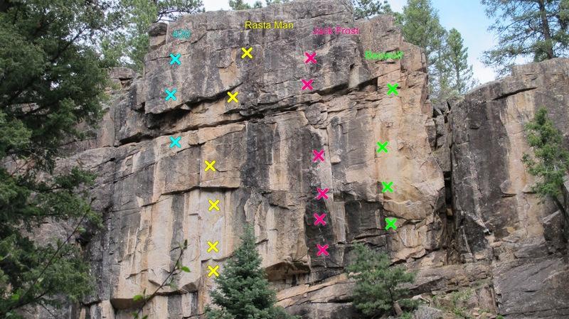 Rock Climbing Photo: Rasta Wall (photo by Chris Barlow).