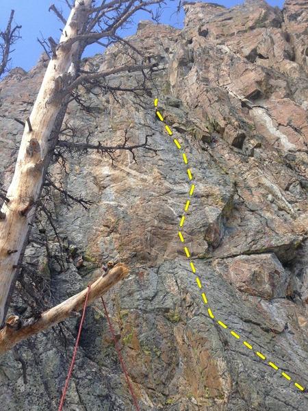 Rock Climbing Photo: Direct XM