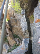 """Rock Climbing Photo: """"Mouse trap"""" on pitch 12"""