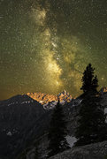 The Grand Teton and the milky way photographed from the CMC camp on Mount Moran.  <br /><a href='http://www.ancientskys.com/' target='_blank' rel='nofollow' >ancientskys.com/</a>
